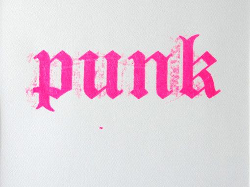 punk rose fluo