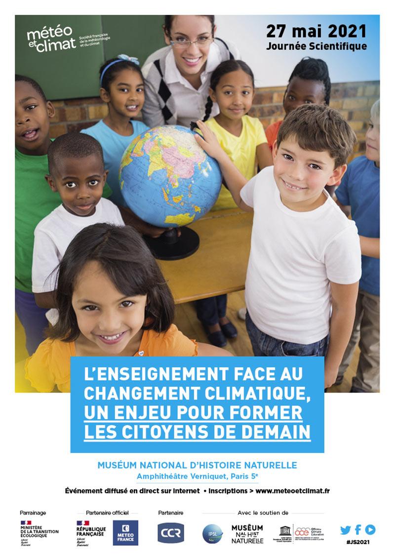 Affiche Journee Scientifique Paris 2021